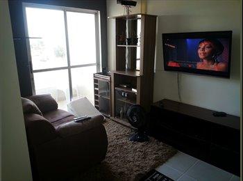 EasyQuarto BR - Quarto vago em apartamento mobiliado - Virgem Santa, Macaé-Rio das Ostras - R$400
