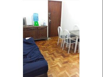 EasyQuarto BR - Alugo Vagas e quartos em republica no Ed Malleta - Centros, Belo Horizonte - R$400