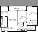 EasyRoommate CA Wanted: Female roommate for beautiful 2 bdrm apt - Davisville Village, Toronto - $ 850 per Month(s) - Image 1