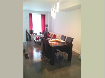 EasyRoommate CA - ROOMMATE WANTED - Newly Built 1600 Sq Ft Townhouse - Corktown, Toronto - $1100