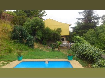CompartoDepto CL - Arriendo pieza paso hondo ,piscina - Quilpué, Valparaíso - CH$*