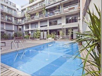 EasyPiso ES - Habitación en un moderno apartamento - Sarrià-Sant Gervasi, Barcelona - €850
