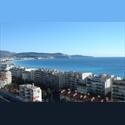 Appartager FR Appart 4 pièces vue mer panoramique, 50 m plages - Ouest Littoral, Nice, Nice - € 600 par Mois - Image 1
