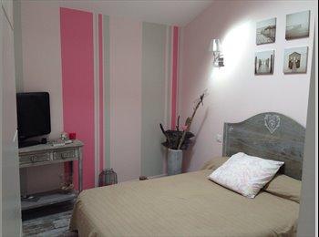 Appartager FR - chambre décorée avec goût-placards-tv-40€ - Arcangues, Biarritz - €390