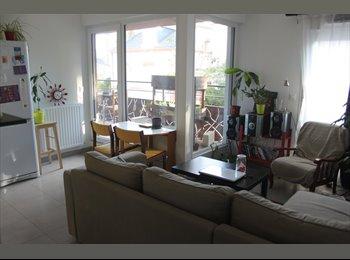 Appartager FR - Sous-loue appartement meublé (57 m²) à Rennes - Jeanne d'Arc - Longs-Champs - Beaulieu, Rennes - €412