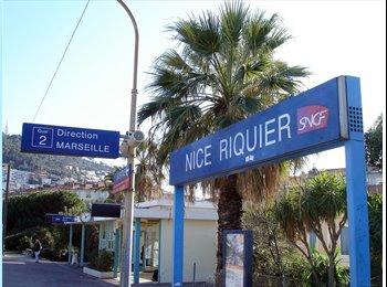 Appartager FR - Studio a louer - Cœur de Ville, Nice - €500