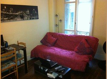 Appartager FR - Je cherche une fille pour partager un Studio - 10ème Arrondissement, Paris - Ile De France - €350