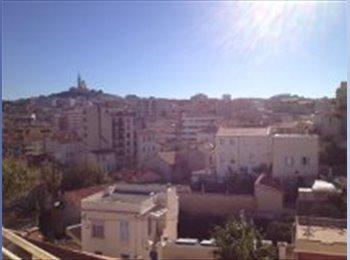 Appartager FR - Propose coloc de 1 à 4 mois ds le 7e - 7ème Arrondissement, Marseille - €450