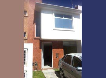 CompartoDepa MX - Se Renta Casa AMP en Cuautlancingo - Cholula, Cholula - MX$3200