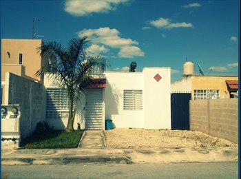 CompartoDepa MX - Rento casa en Mérida Fracc. Los Almendros - Mérida, Mérida - MX$2000