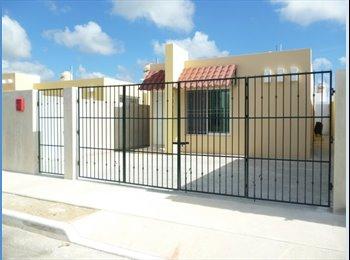 CompartoDepa MX - Casa amueblada de 3 recamaras cerca de Aeropuerto - Mérida, Mérida - MX$10000