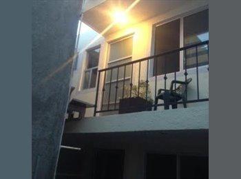 CompartoDepa MX - Dormitorio individual en renta para universitaria - La Paz, Puebla - MX$2700