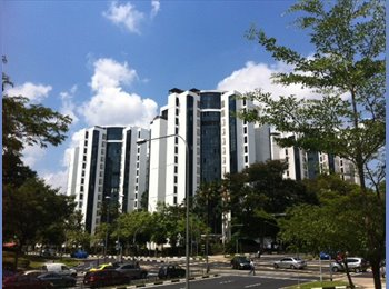 EasyRoommate SG - Hougang high Floor Condo Common Room for Renting - Hougang, Singapore - $1000