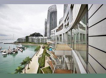 EasyRoommate SG - Master bedroom with Ensuite Bathroom - Sea view - Telok Blangah, Singapore - $2500