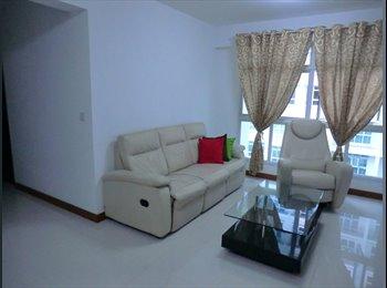 EasyRoommate SG - Near Buangkok Mrt Master Bedroom $1000 /mth - Sengkang, Singapore - $1000
