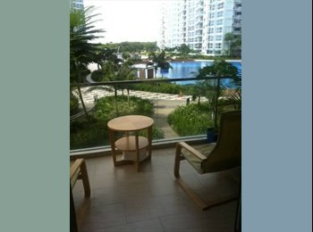 EasyRoommate SG - Rooms for rent at Tampines new condo Waterview - Tampines, Singapore - $1100