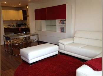 EasyRoommate UK - GREAT DOUBLE BEDROOM IN AN AMAZING 2 BED 2 BATH FL - Elephant and Castle, London - £850