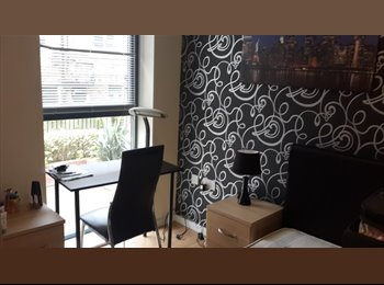 EasyRoommate UK - Double en-suite room full furnished in city centre - Broomhill, Sheffield - £386