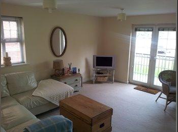 EasyRoommate UK - Double Room, Grd Floor Stretford Marina Apartment - Stretford, Trafford - £340