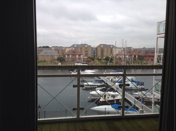 EasyRoommate UK - Room to let in lovely flat at sovereign harbour - Eastbourne, Eastbourne - £450