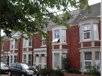 EasyRoommate UK - Double Room t in a lovely Spacious Victorian House - Heaton, Newcastle upon Tyne - £250