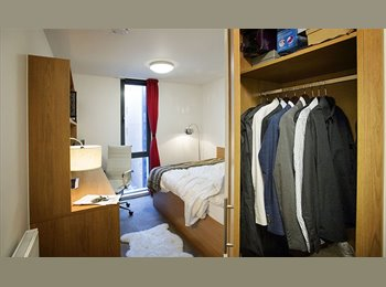 EasyRoommate UK - Double en-suite room in luxury student flat - Liverpool Centre, Liverpool - £511