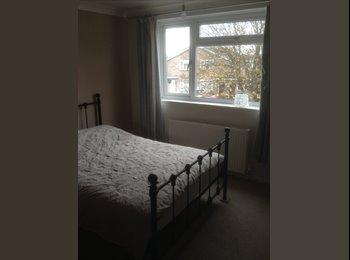 EasyRoommate UK - Front Bedroom with en-suite in clean house - Bedford, Bedford - £475