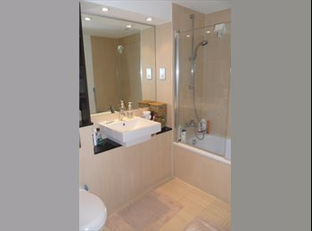 EasyRoommate UK - Large bedroom in a modern new building minutes awa - London, London - £758