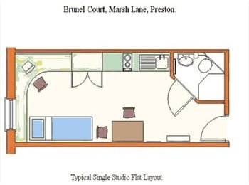 EasyRoommate UK - Ensuite Studio Flat (All bill + Internet Inc.) *DE - Preston, Preston - £407
