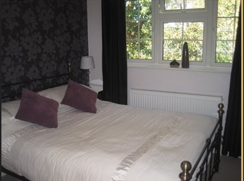 EasyRoommate UK - Lovely double bedroom with en suite - Frimley, North Surrey - £550