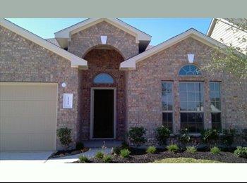 EasyRoommate US - Roommate Needed for 3brdm/2ba Home in Katy - Katy, Houston - $600