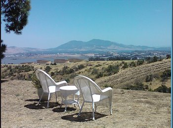 EasyRoommate US - ROOM WITH A VIEW - Benicia, Oakland Area - $850