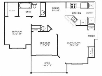 EasyRoommate US - Looking for a roomate!  near Eatonton, GA 31024 - Athens, Athens - $350