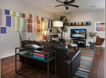 EasyRoommate US - Addison Park Sublease Spring Semester. - Boca Raton, Ft Lauderdale Area - $940