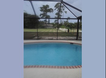 EasyRoommate US - BIG HOUSE, POOL AND DOGS - West Palm Beach, Ft Lauderdale Area - $900