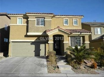 EasyRoommate US - 2 Bedrooms Avail. 2300sqf  - Private Bath - 680/mo - Rhodes Ranch, Las Vegas - $680