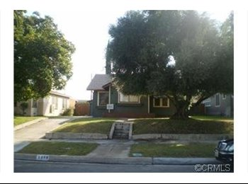 EasyRoommate US - Private Bedroom: Internet, Utilities and Laundry - Riverside, Southeast California - $500