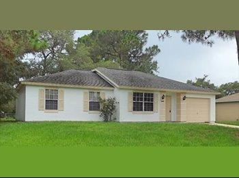 EasyRoommate US - Cocoa--Nice House in Nice Neighborhood - Melbourne, Other-Florida - $450