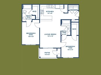 EasyRoommate US - apartment for rent - San Marcos, San Marcos - $1085