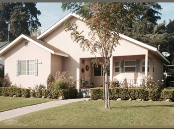 EasyRoommate US - Room for Rent by Charming Old Fig Garden! - Old Fig Garden, Fresno - $475