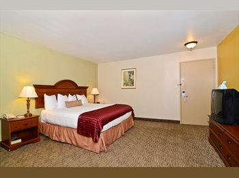 EasyRoommate US - Quality Inn and Suites. Extended stay. - Arden, Sacramento Area - $1512