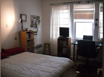EasyRoommate US - LARGE SUNNY ROOM IN ASTORIA! SUBLET DEC 20-JAN 20 - Astoria, New York City - $990