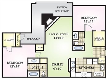 EasyRoommate US - $750 GETS YOU THE BEST ROOMMATE EVER! (BRUCE B DOW - New Tampa, Tampa - $750