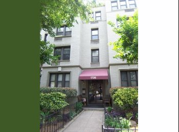 EasyRoommate US - 1 bedroom available in 2 bedroom Dupont Circle con - Dupont Circle, Washington DC - $1350