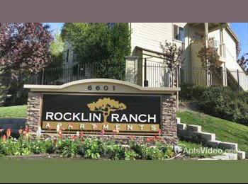 EasyRoommate US - Master Bedroom Available in 2B2B Apartment - Roseville, Sacramento Area - $700