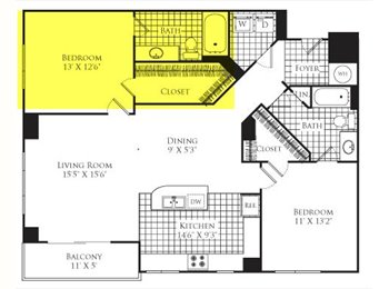 EasyRoommate US - Penthouse Master Bedroom for Rent - Plantation, Ft Lauderdale Area - $1200