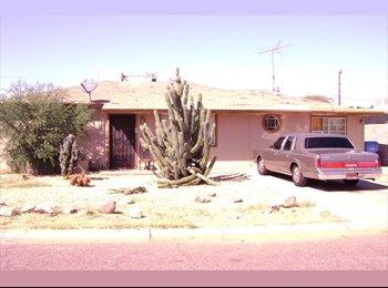 EasyRoommate US - Room for Rent West Phoenix $350.00 with Utilities - Central Phoenix, Phoenix - $350