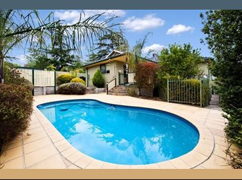 EasyRoommate AU - Fully furnished room, great location for transport - Heidelberg, Melbourne - $800