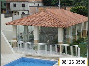 EasyQuarto BR - AP 2Q COM PISCINA NO COLINAS DE VILA VELHA - Vila Velha, Vitória e Região Metropolitana - R$800