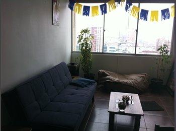 CompartoDepto CL - Arriendo Habitación amoblada en Metro UC - Santiago Centro, Santiago de Chile - CH$*